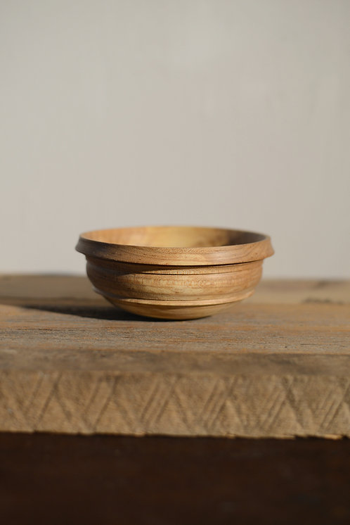 MAPLE BOWL with BARK INCLUSION