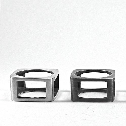 Square Frame Ring
