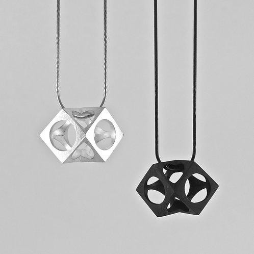 Double Cube Pendant