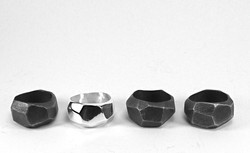 Rough Cut Ring