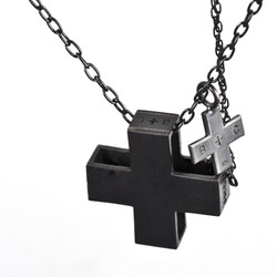 Cross Pendant Detail Chain