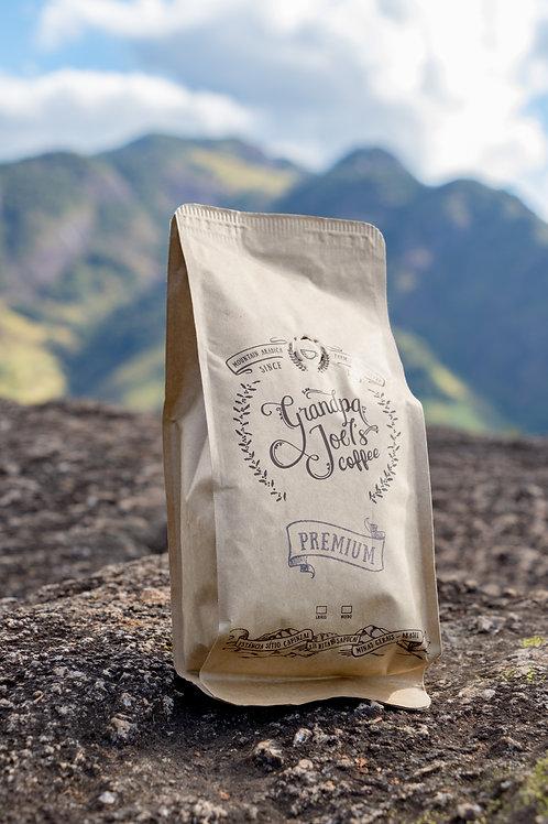 Café Premium torrado em grãos  226.8gr - 8oz