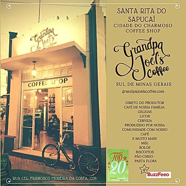 Nosso Coffee Shop em Santa Rita do Sapucaí-m