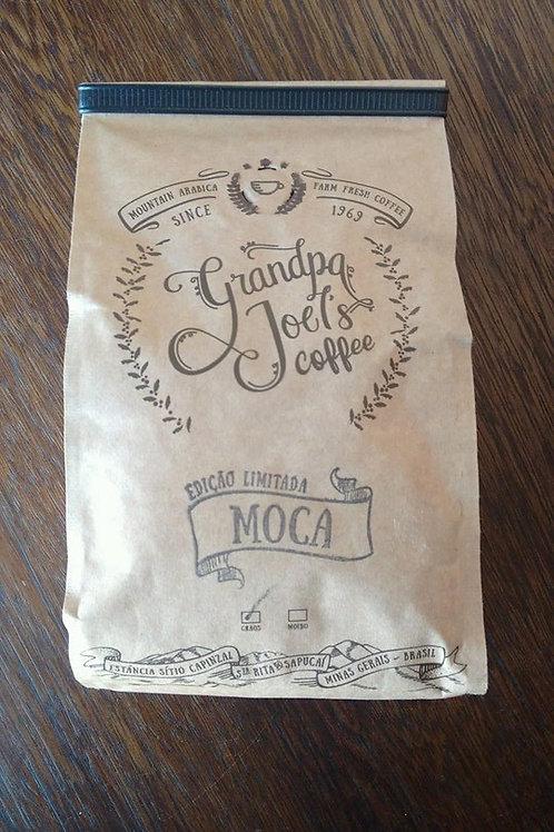 MOCA   Café torrado em grãos  453.5 gr - 16oz