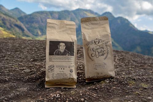 Café Premium torrado e moído 453.5 gr - 16oz