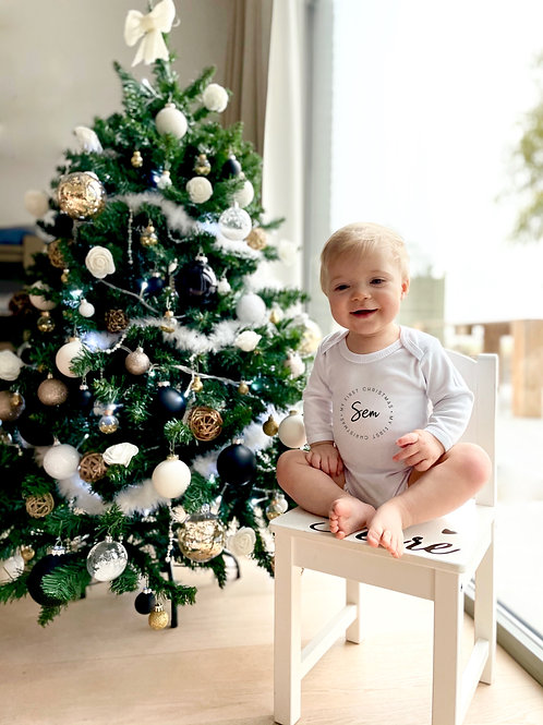 My first Christmas met naam
