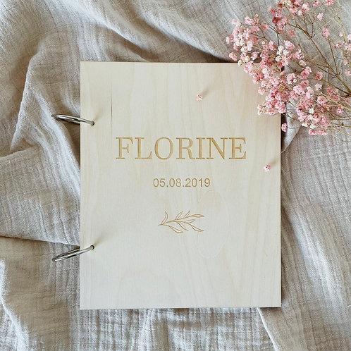 Houten omslag - Florine -
