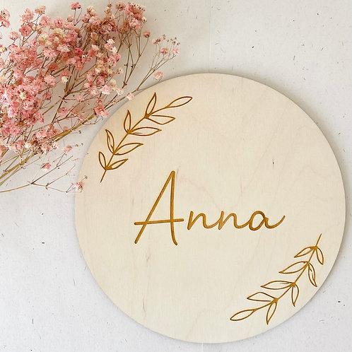 Geboortebord - 'Anna'