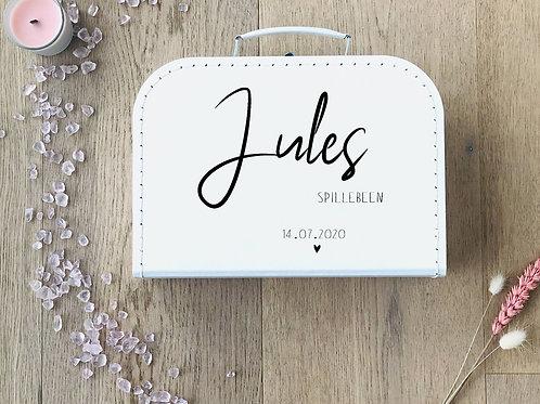 Naamkoffertje Jules