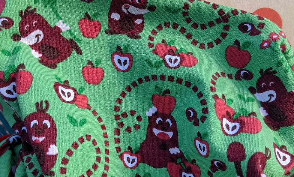 Apple Mole - Velour lined