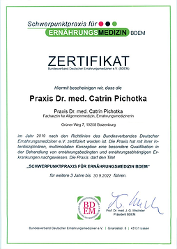 Zertifikat-Schwerpunktpraxis-fuer-Ernaeh