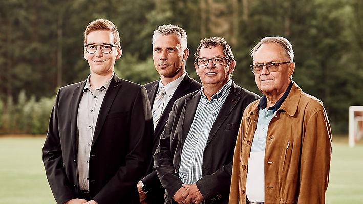 Lübtheener Sportverein SV Vorstand Gruppenbild