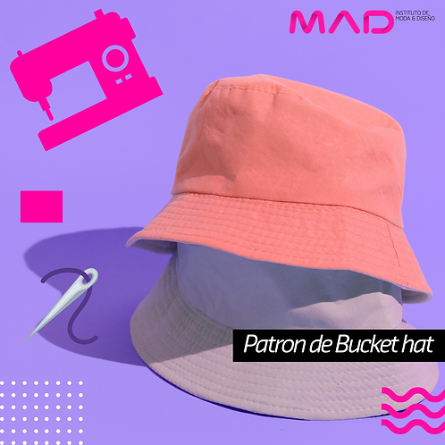 Patron de Bucket hat
