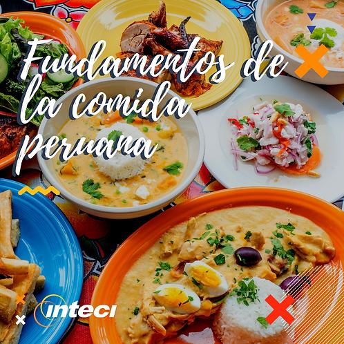 Fundamentos de la Cocina Peruana Tradicional- 2 sesiones - 17 y 18 de Agosto