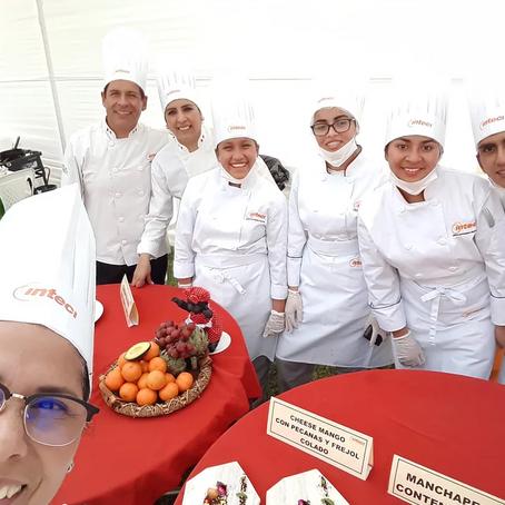 Alumnos de la escuela de Gastronomía de Inteci ganan importante concurso en Chincha
