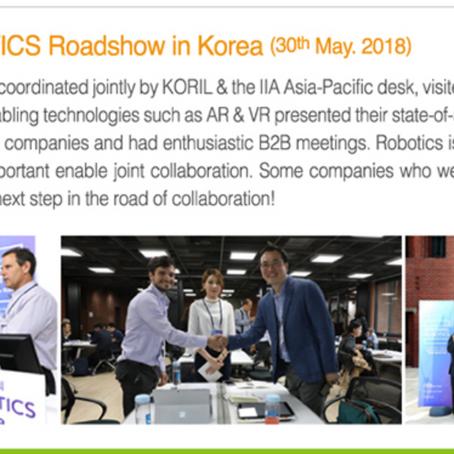 2018 ISRAEL Robotics Roadshow 듀코젠_이스라엘 기업과 공동기술개발 협력 추진