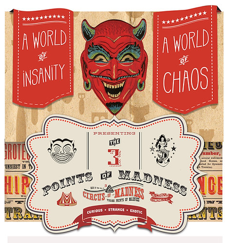 Circus of Madness full length CD