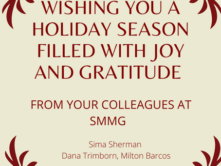 Wishing You a Holiday Season Filled With Joy and Gratitude