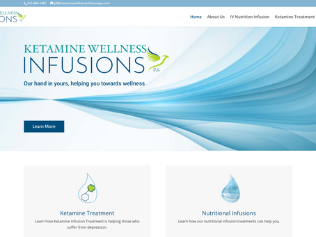 SMMG is Proud to Launch Ketamine  Wellness Infusions