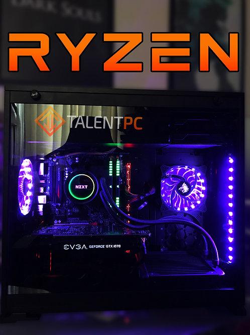 Ryzen 7-2700 8 Núcleos - GTX 1080 - 16GB RAM RGB - 1TB