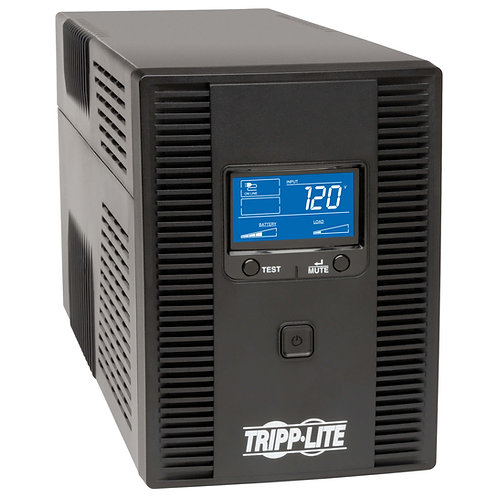 UPS OmniSmart interactivo de 120V, 50Hz /60 Hz, 1500VA 810W, Torre, pantalla LCD