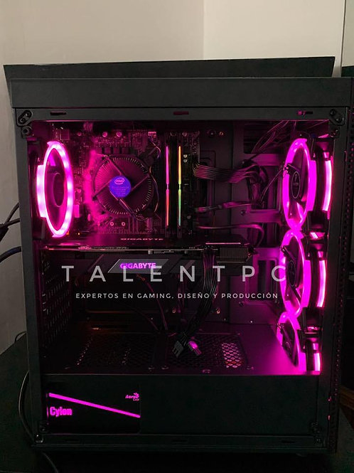 TalentPC Workstation | Ryzen 5 3600 - 256 SSD M.2 NVMe - RTX 2060 SUPER