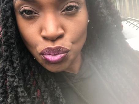 Purple Ombre Lips