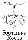 Southern Roots Wine Logo Black & White