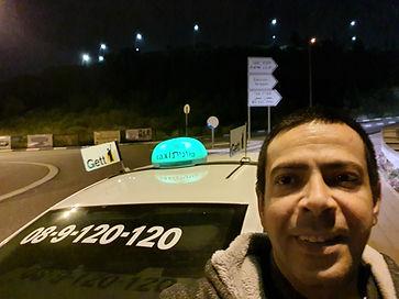 מונית מרחובות לבנימינה