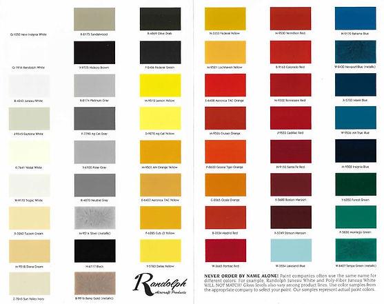 Randolph Classic Colors