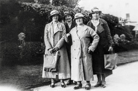Clara Cooke, Mrs Westberry, Mrs Jack Terry, Mrs Foster