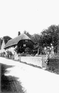 Two cottages in Back street, which have now been demolished, Ilmington. 1912