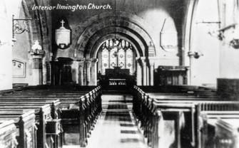 Interior Ilmington church