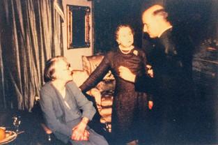 Miss Hardiman, Helga Harris, Archdeacon Harris