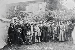 Ilmington fete 1909