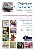 Craft Show flyer 2013