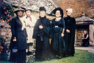 1965 - Florence Horne, Olive Dumbleton, Nell Schoding, Annie Humphreys, Rita Randall