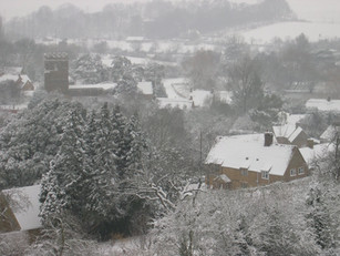 Villlage snow