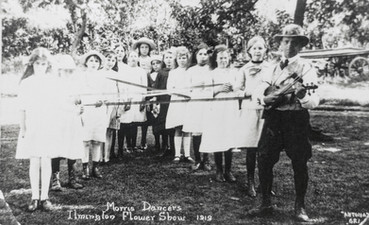 Country Dancers - Flower Show 1919