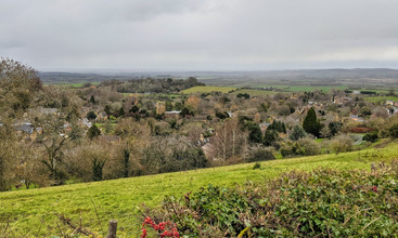 Ilmington from Foxcote hill - December 2020