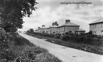 New council housing at Ilmington. 1930s