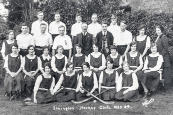 Ilmington hockey club 1923-24