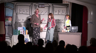 Ilmington drama group - Open All Hours Feb 2018 - John Sargent, Lucy Edyvean, Penny Mckeown