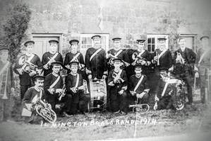 Ilmington brass band 1914