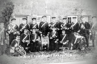 Ilmington brass band 1914
