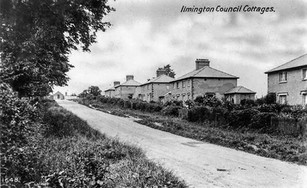 New council housing at Ilmington - 1930s