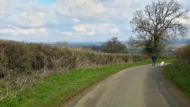 Winter. March Foxcote Hill