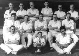 1957 cricket team