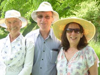 2016 - Christine Wright, Bryan Clifford and Chairman Carole Clifford
