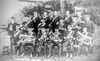 Ilmington brass band c1914/18